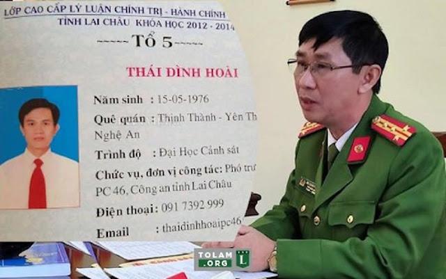 Khai trừ Đảng cựu Trưởng phòng Cảnh sát kinh tế sử dụng bằng giả