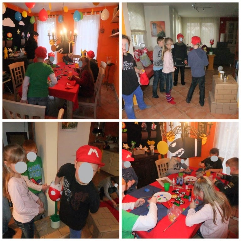lustige Spiele Super Mario Geburtstagsparty