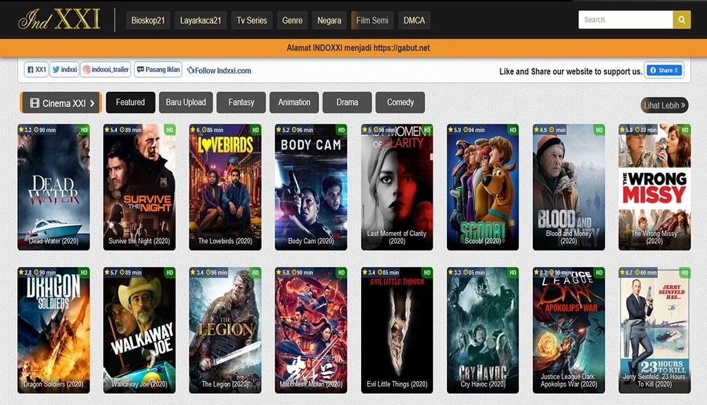 INDOXXI Online, Nonton Movie Bioskop 21