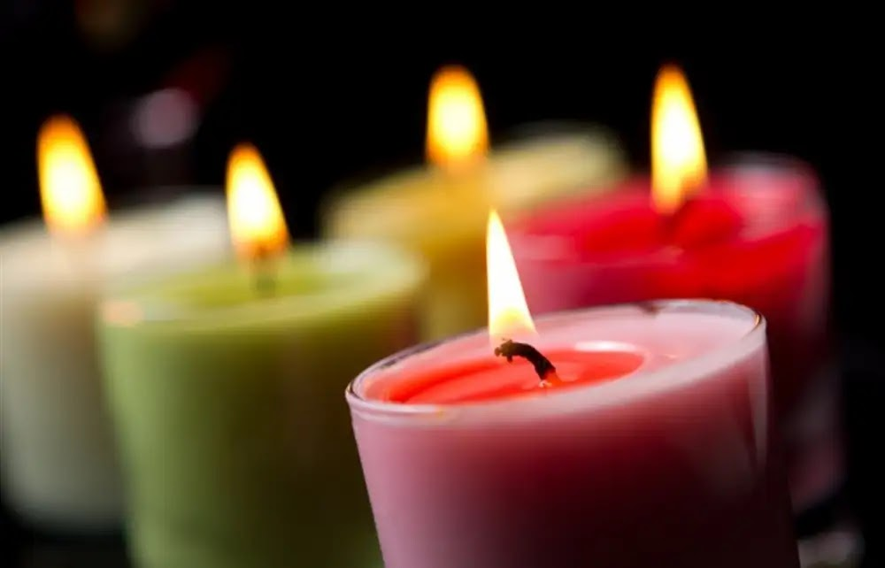 For romance and love: Amazing benefits of using candles in home lighting ... including stimulating relaxation