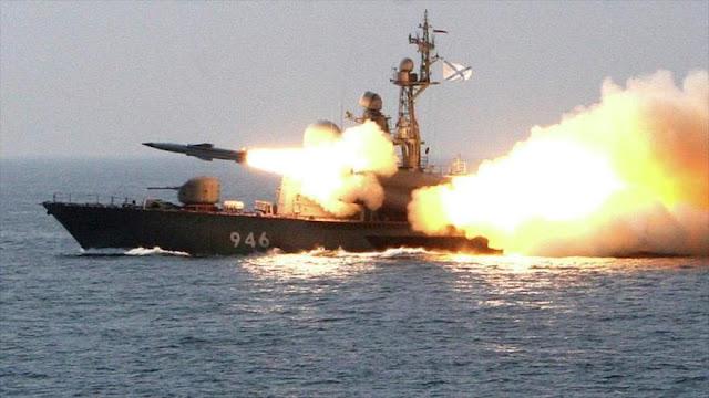 Armada rusa ataca con misiles balísticos a terroristas en Siria