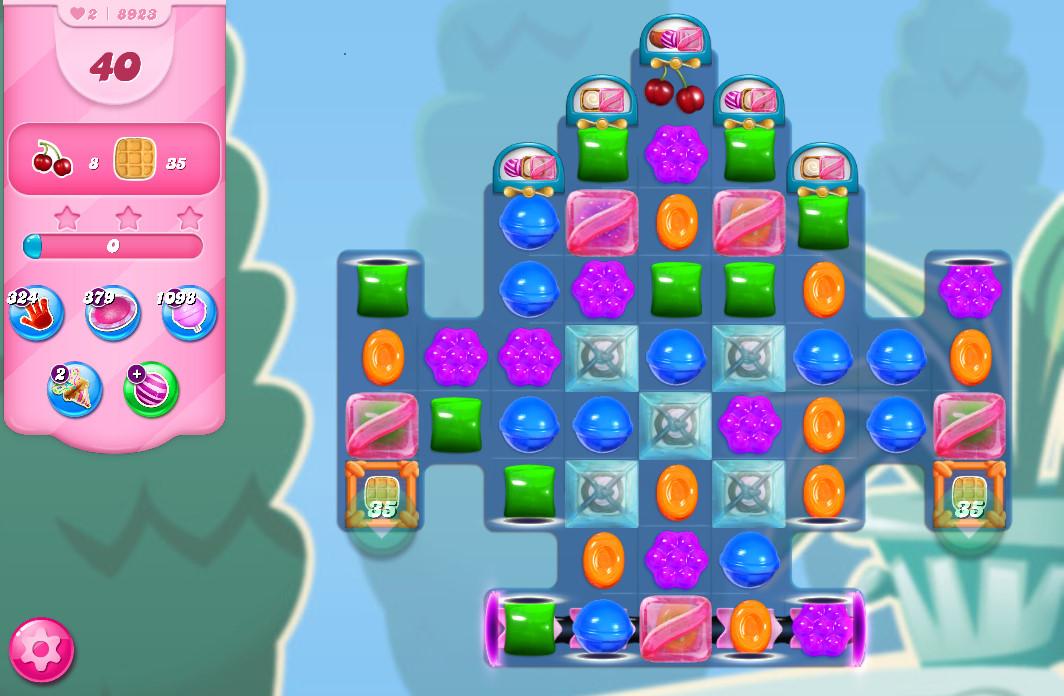 Candy Crush Saga level 8923