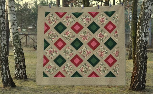 longarm romantic quilt