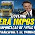 Bolsonaro zera imposto sobre importação de pneus para caminhões