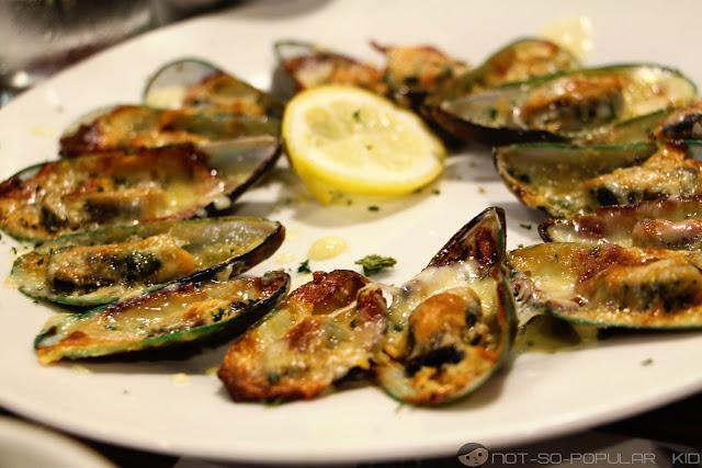 Baked Mussels of Kangaroo Jack