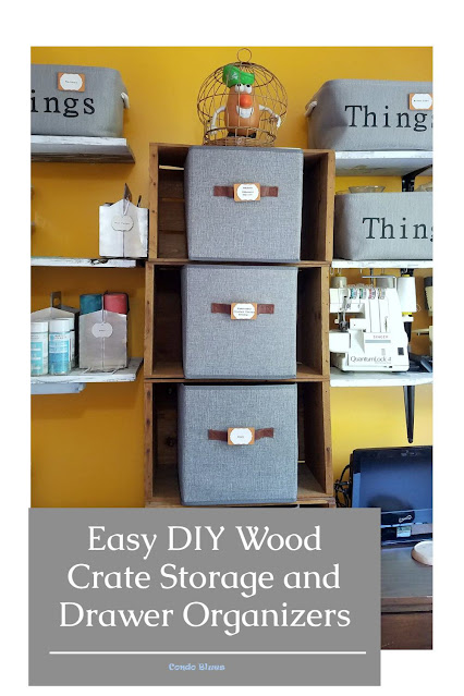 how to organize craft supply drawers