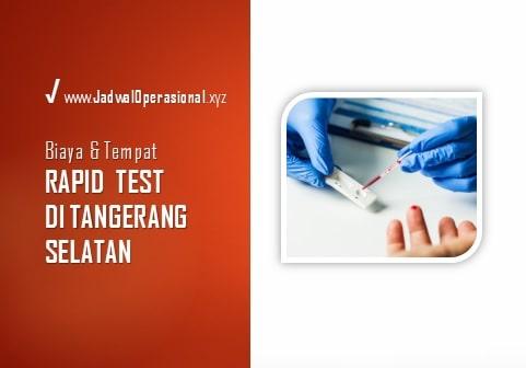 Rapid Test di Tangerang Selatan