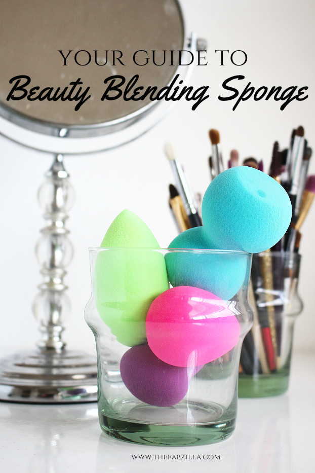 how to use beauty blending sponge, how to use beauty blender