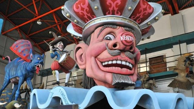 Οι 300 του Λεωνίδα, ο δράκος της Κίνας και ο Κινγκ Κόνγκ στο καρναβάλι της Πάτρας (βίντεο)