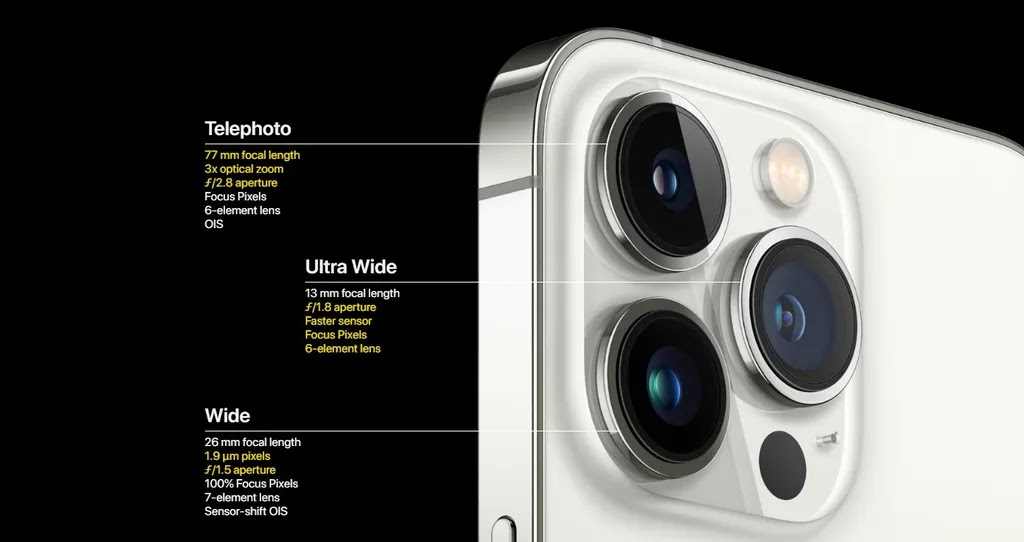 Differences between iPhone 13