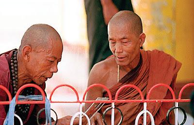 Myanmar Buddhist Monks