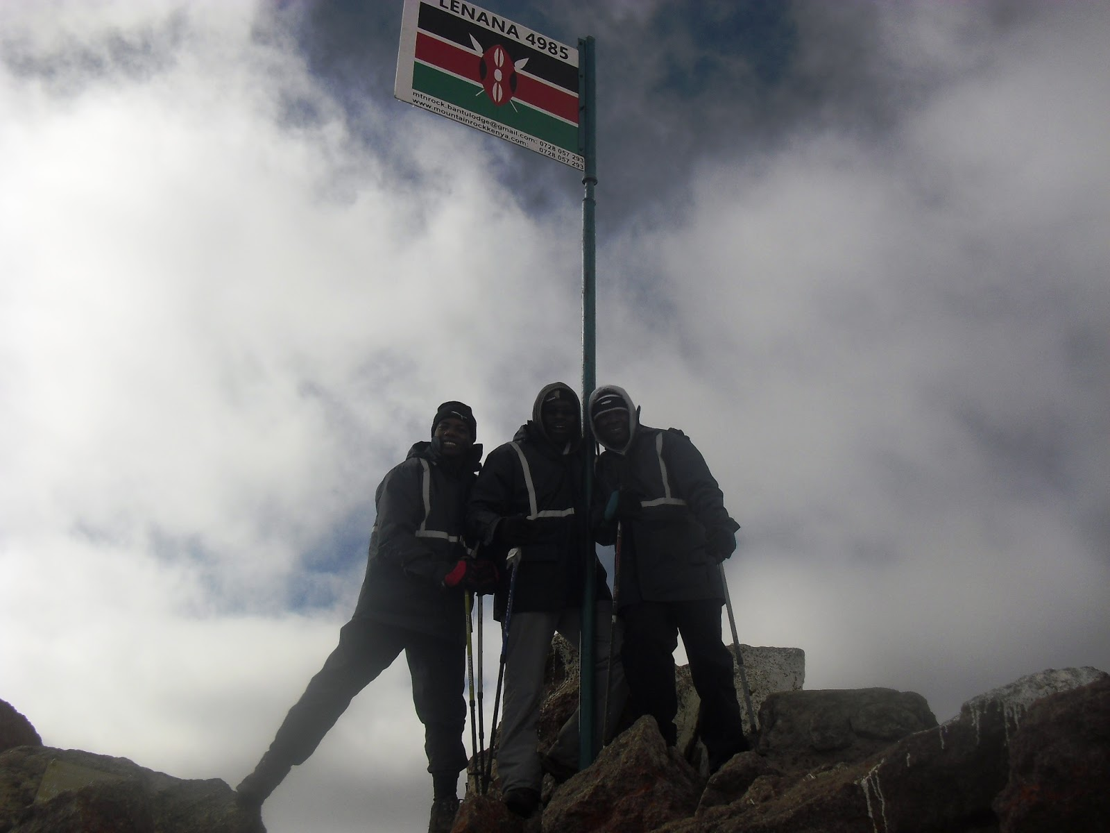 Ascent of Mount Kenya | For the Greater Glory of God