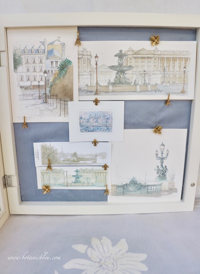 French Prints Shadowbox with Tips for Creating your own