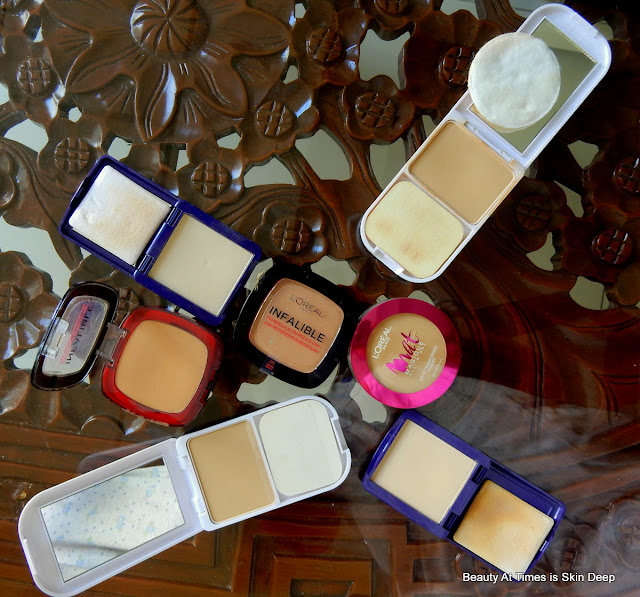 L'Oreal Infallible Compact powders