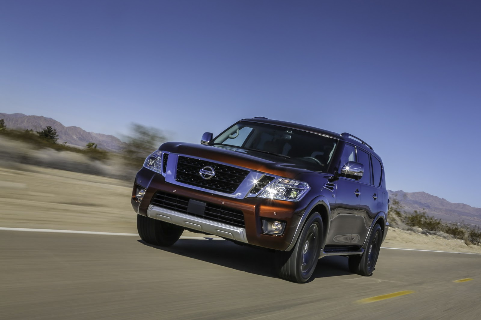 2017 nissan armada is north americas patrol or the infiniti 2017 nissan armada is north americas patrol or the infiniti qx80s less glitzy twin vanachro Choice Image