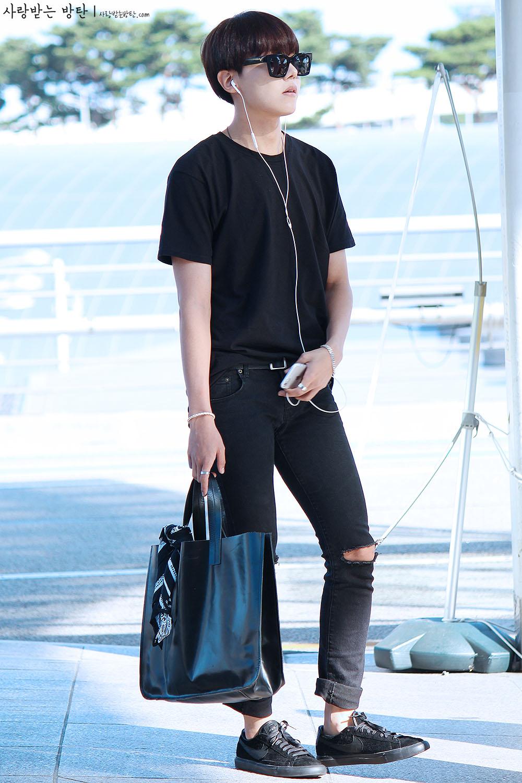 Airport Fashion Para Member BTS Bangtan Boys Terbaru