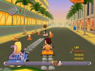 Action Girlz Racing (Europe) PS2 ISO