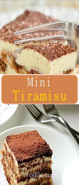 Mini Tiramisu Recipe # Tiramisu #Cake