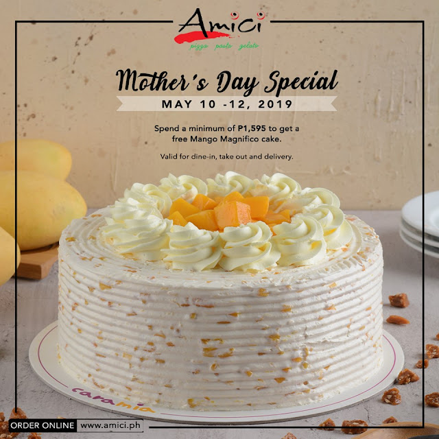 Mother's Day Food Promo