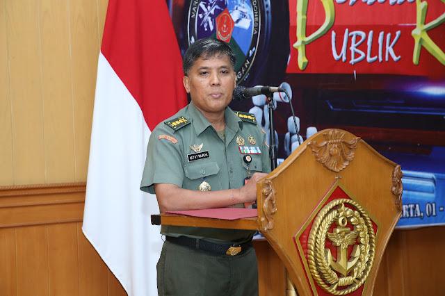 Kapuspen TNI : Tugas Public Relations Tanggung Jawab Personel Penerangan