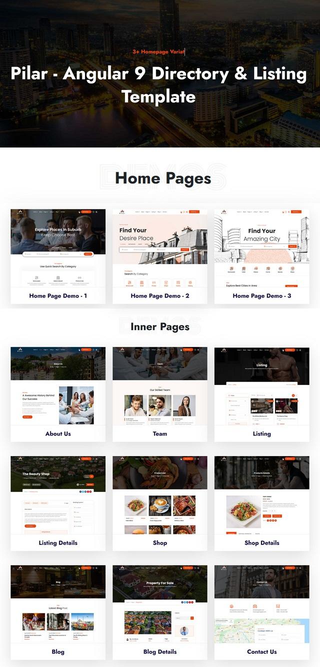 Directory & Listing Theme