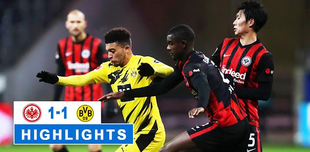 Eintracht Frankfurt vs Borussia Dortmund – Highlights