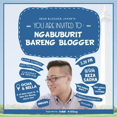undangan, blogger, ngabuburit, sakuku, bca
