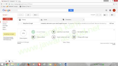 tampilan email di google gmail