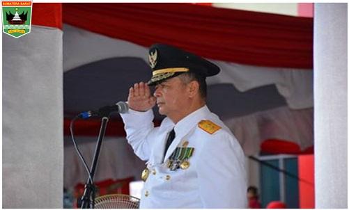 Wagub Nasrul Abit,:Sebagai Penerus Amanah Kemerdekaan  Kita Sebagai Anak Bangsa Patut Berterima Kasih Kepada Pahlawan Bangsa