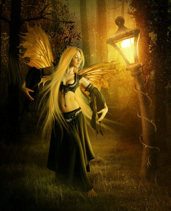 Superb Collections Of Awesome Fantasy Art Girls Wallpapers