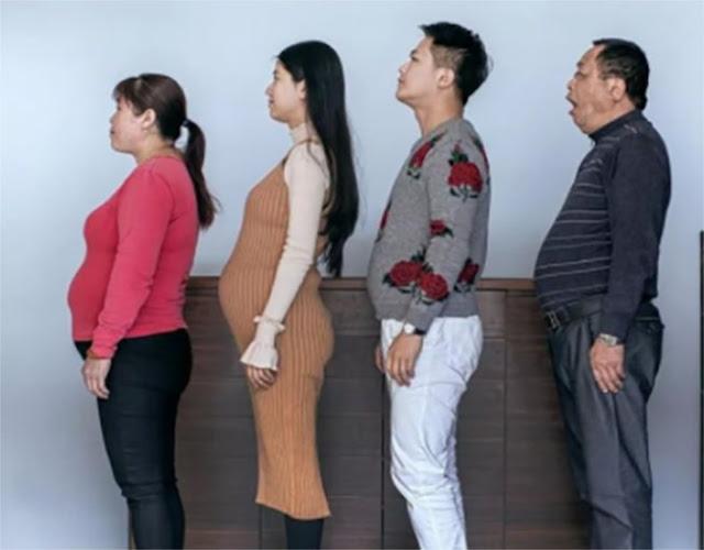 Familia con sobrepeso entrena y ahora lucen como modelos