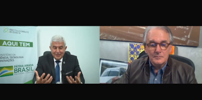 Marcos Pontes é o entrevistado de quarta (Divulgação/SBT)