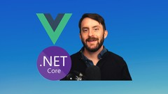 Learn Full-Stack Vue, .NET Core, PostgreSQL Web Development