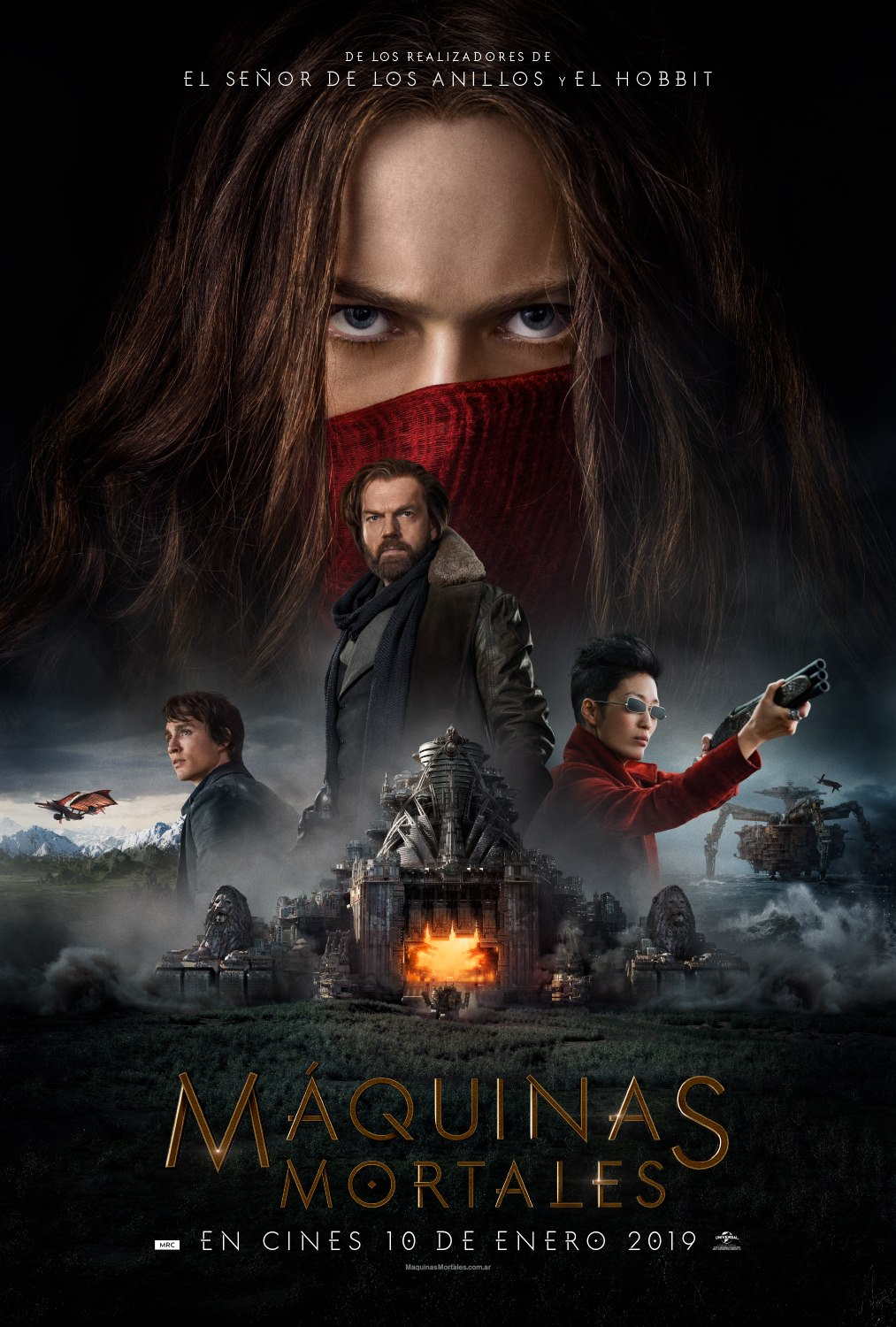 Maquinas Mortales (Mortal Engines) (2018)