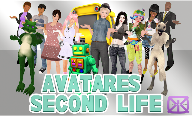 old and new avatars second life
