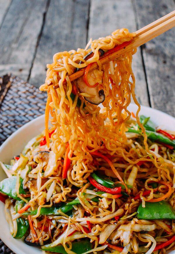 VEGETABLE RAMEN #noodles #healthyrecipe #ramen #vegan #vegetable