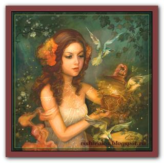 "HAED HAEANS 128871 ""Rhodeia Of The Rose Spring"""