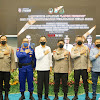 PJU Mapolda Dampingi Kapolda Sulsel, di Acara Launching Aplikasi Lapor Korupsi