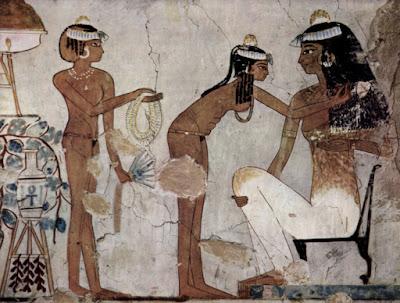 Το μυστήριο με τους κώνους στα κεφάλια των Αιγυπτίων που απεικονίζονται σε αρχαία ιερογλυφικά
