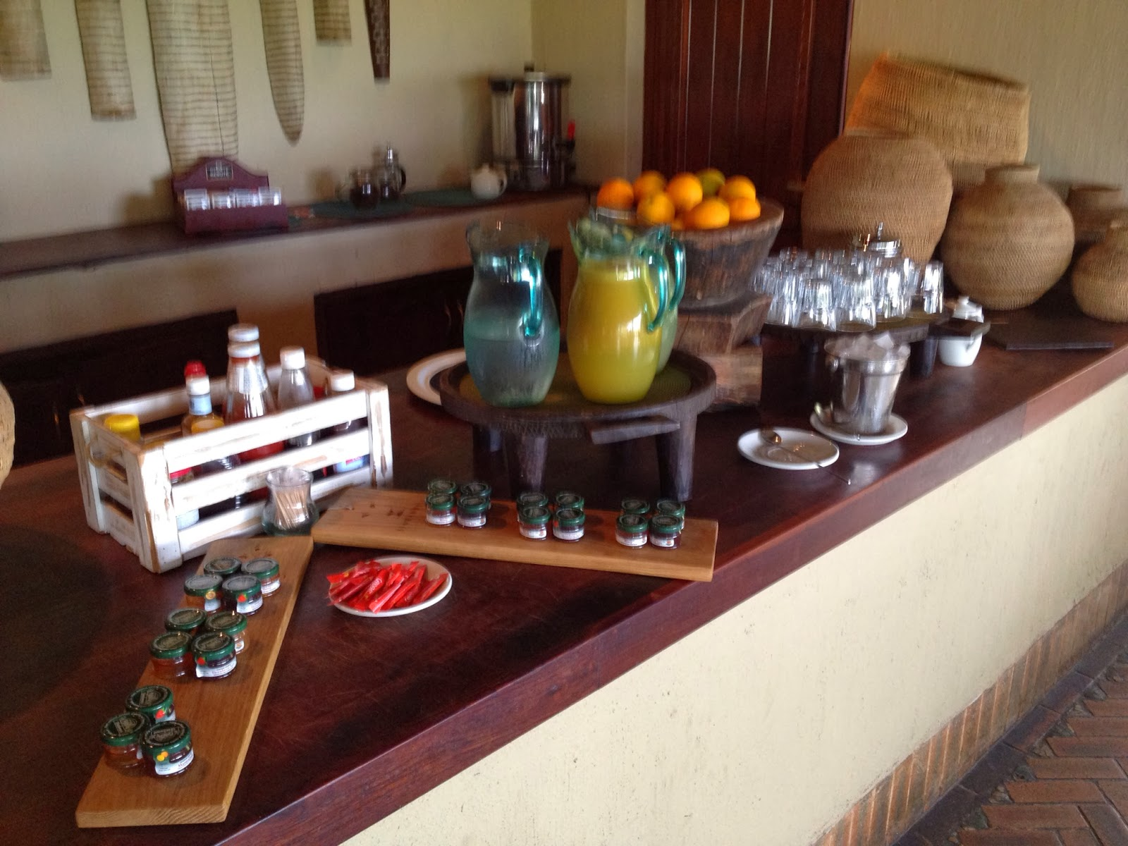 Sabi Sands - Drinks station