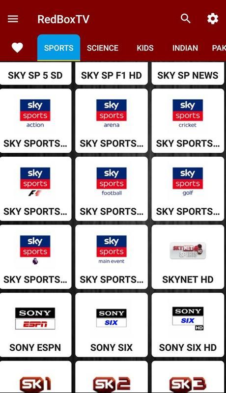 تحميل redbox tv للاندرويد