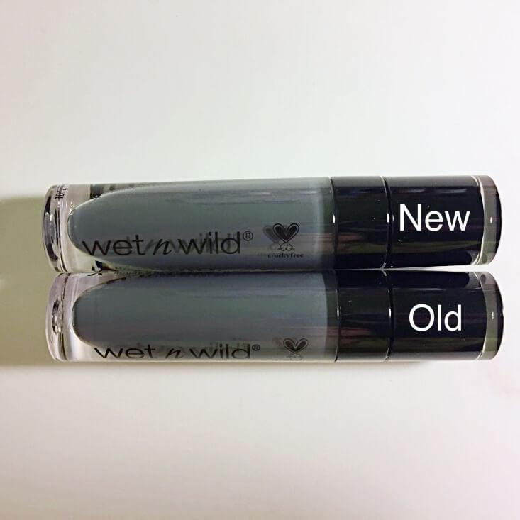 wet n wild megalast Liquid Catsuit Matte Lipstick Loose Change vs Sleepy Hallow