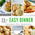 20+ easy dinner recipes for family
