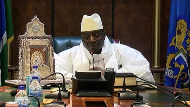 Nigerian lawmakers vote to offer asylum to Gambia's president Yahya Jammeh