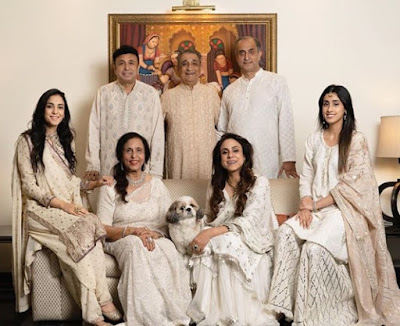 Kanikka with her Family