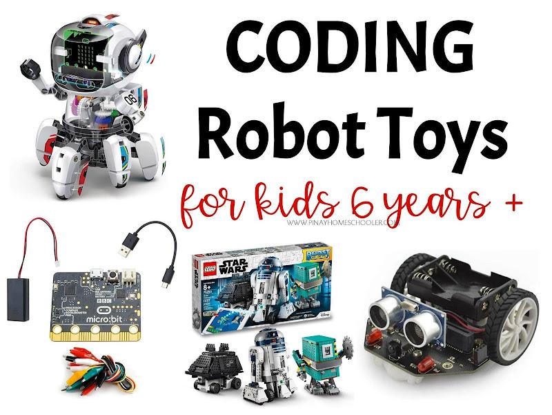 Coding Robot Toys Christmas Wishlist