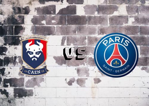 Caen vs PSG  Resumen y Partido Completo