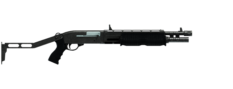 The Combat Shotgun from the Cayo Perico Heist