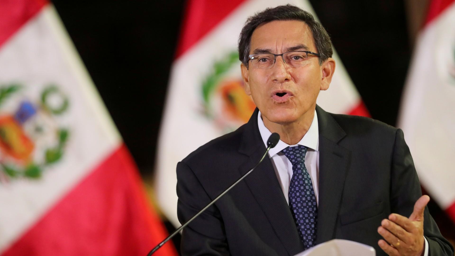 Martin Vizcarra destituido