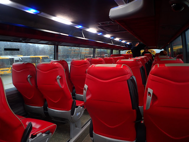 Polski Bus / Flixbus - wnętrze